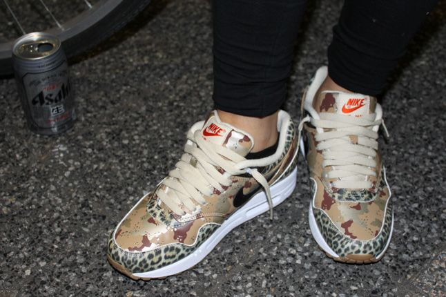... 17 best images about shoes on pinterest; nike air max 1 prm x atmos \animal  camo pack\ desert camo/leopard ...