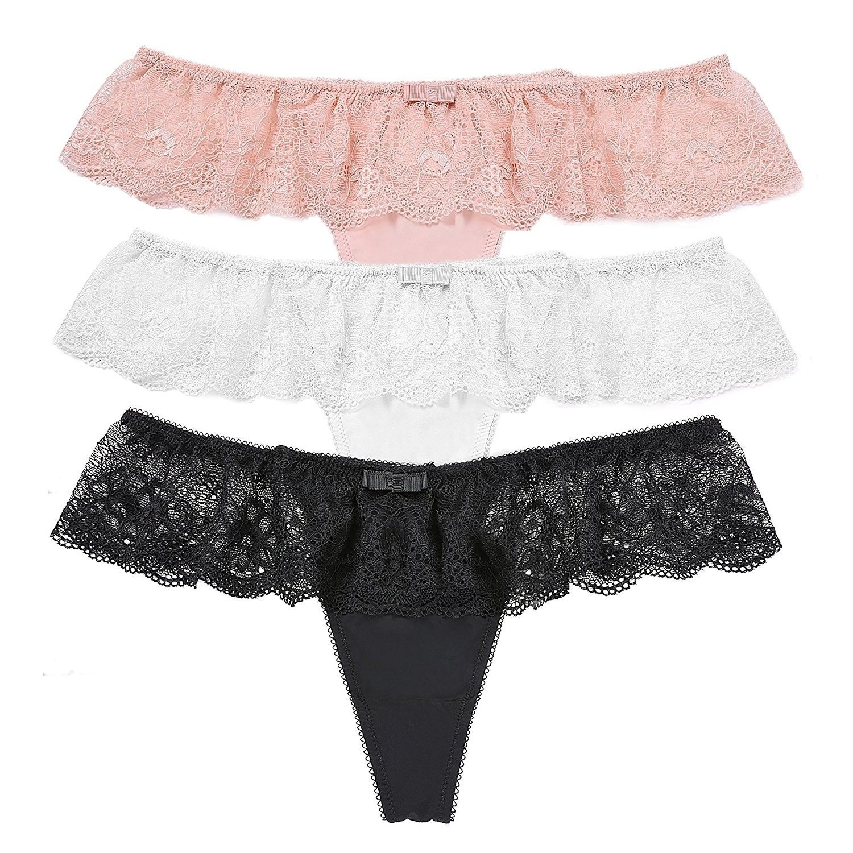 Women Sheer Lace Transparent Hipster Boyshorts Panties Lingerie Briefs Underwear