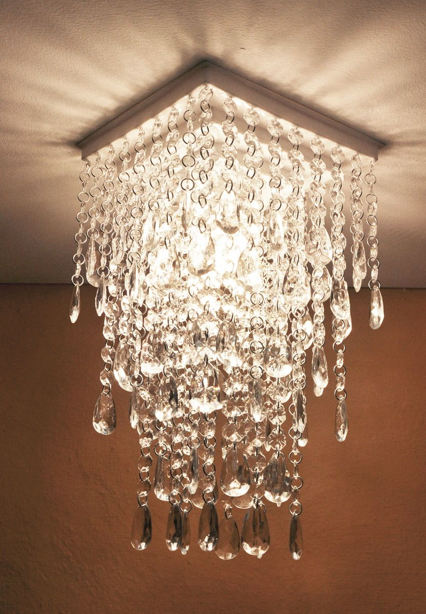 lustre de cristal de acr lico paris fixadores policarbonato e cores brancas. Black Bedroom Furniture Sets. Home Design Ideas