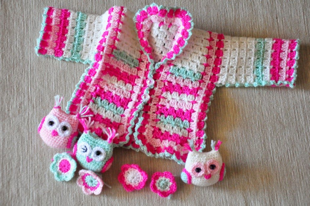 Bebek hırkası | Çocuk hırkası | Pinterest | Bebés búho, Saco de bebé ...