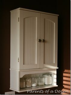 Storage over the toilet | molly | Pinterest | Toilet, Vanities and ...