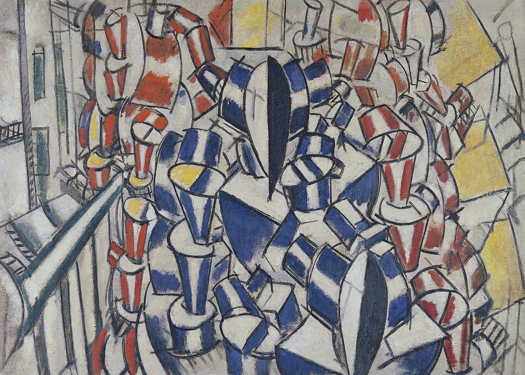 Visto Museo Thyssen 23/10/13 Fernand Léger La escalera (Segundo estado) 1914