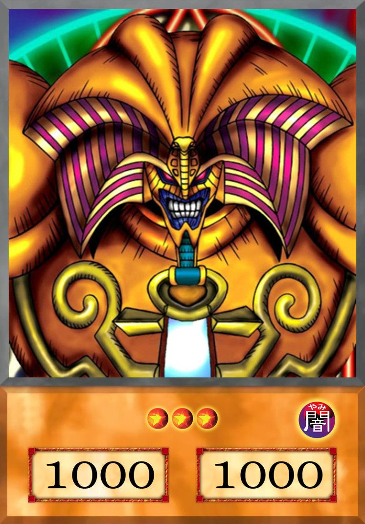 Exodia The Forbidden One Anime By Yugiohanime On Deviantart