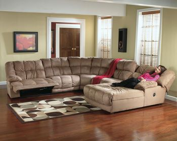 Microfiber Recliner Sectional Sectional Sofa Recliner Chaise 260 Living Room Sets Furniture Living Room Furniture Recliner Sectional Sofa With Recliner