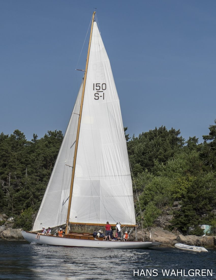 Beatrice Aurorearchipelago Yacht From 1920 A Legend In The Stockholm Yacht Sailing Yacht Sailing