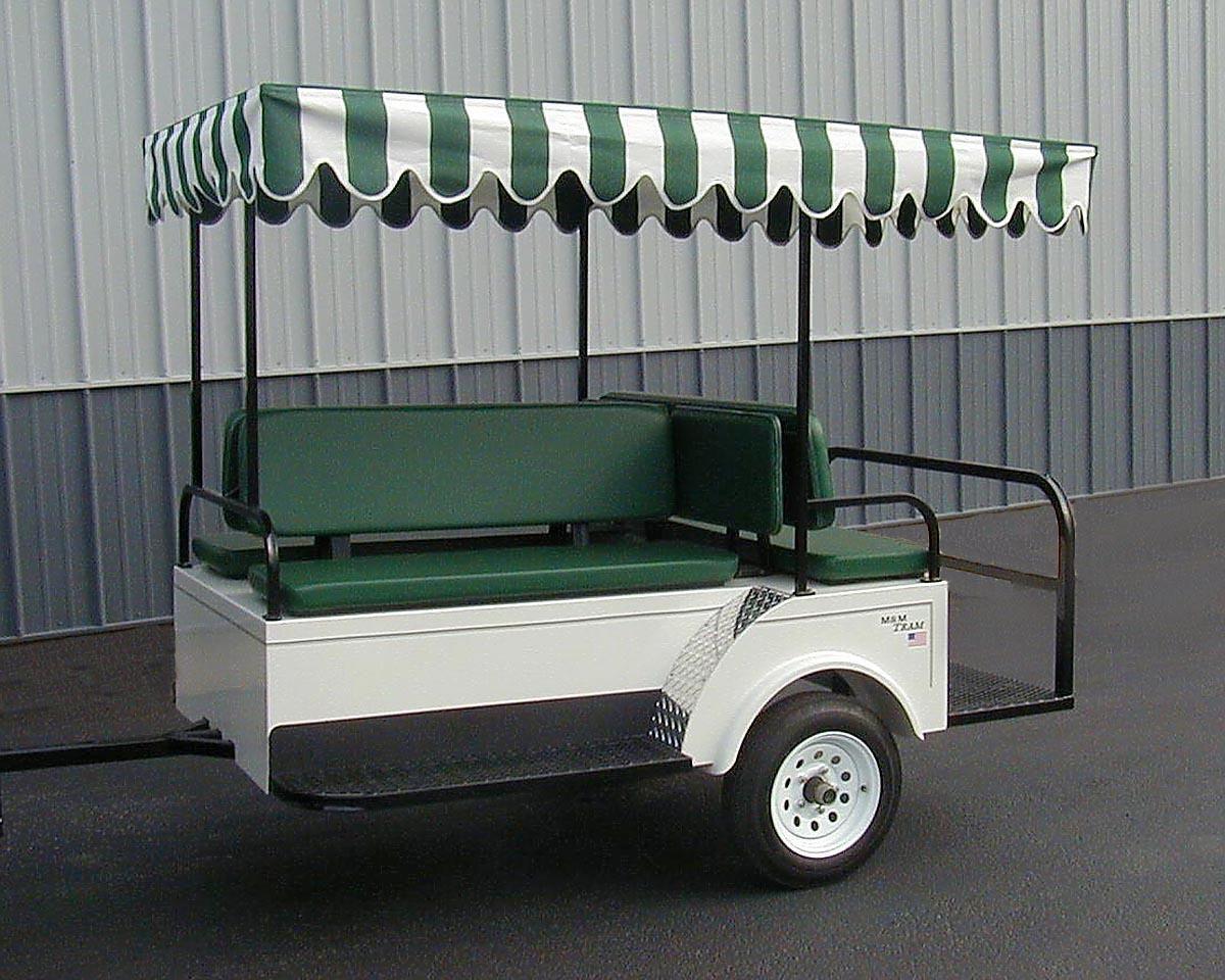 Pull Behind Trailer for golf cart | Ideas | Pinterest | Golf carts ...