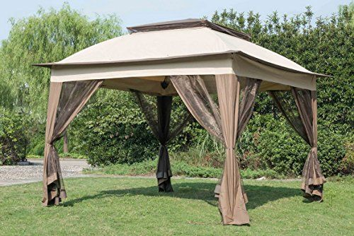 Sunjoy Replacement Canopy Set For 11x 11ft Pop Up Gazebo Backyard Canopy Canopy Outdoor Outdoor
