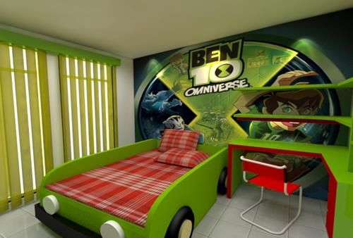 Ben10 Style Kids Room Decoration Ideas Decorazilla