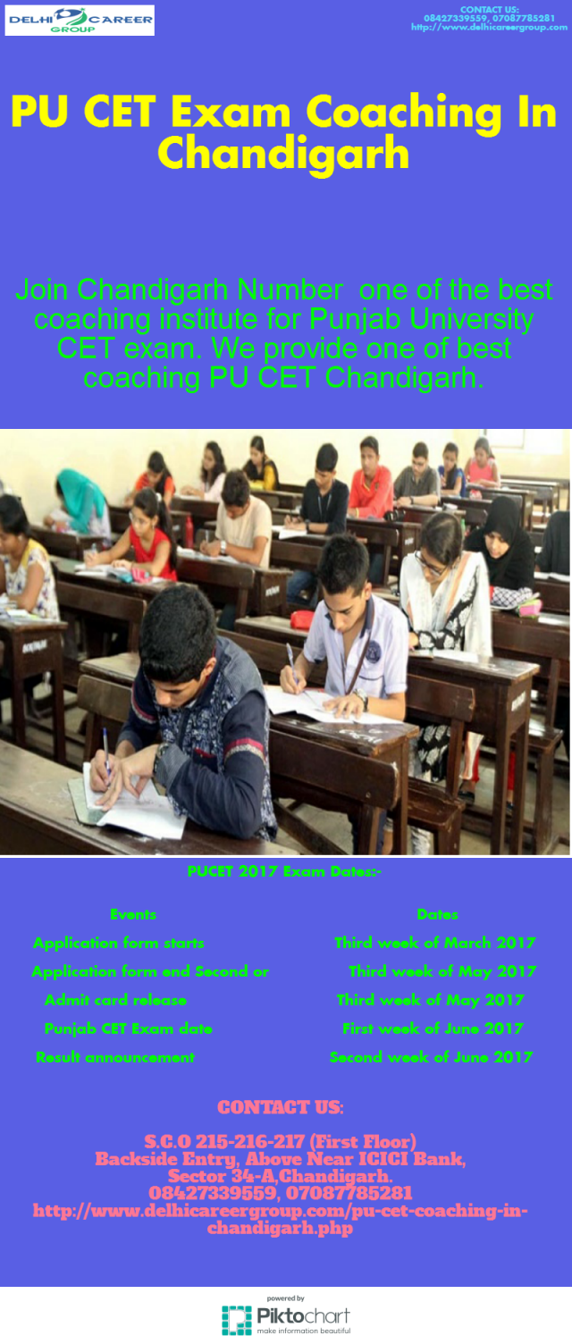Top 5 Coaching Institute in Chandigarh for PU CET Entrance