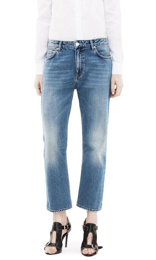 Sale - Bear Star Straight Jeans - Acne Studios Acne Studios 98icw85l