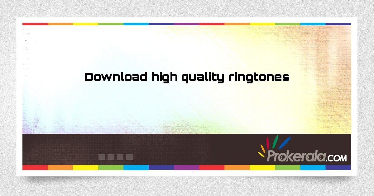 Download high quality ringtones for free  | Ideas for the