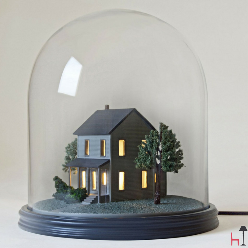 My Little Neighbour Is A Unique Table Lamp By Italian Brand Seletti.