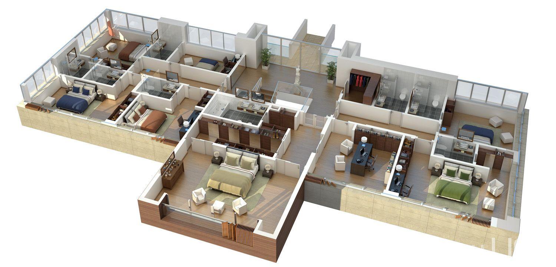 Ncasa Con 7 Habitaciones Plantas De Casas Casas De Luxo Design