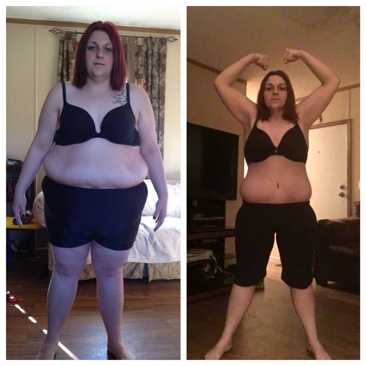 weight loss before and after pics tumblr