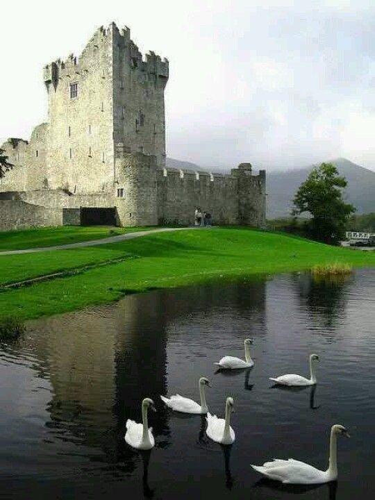Ross Castle, Killarney, Ireland (best castle tour in Ireland)