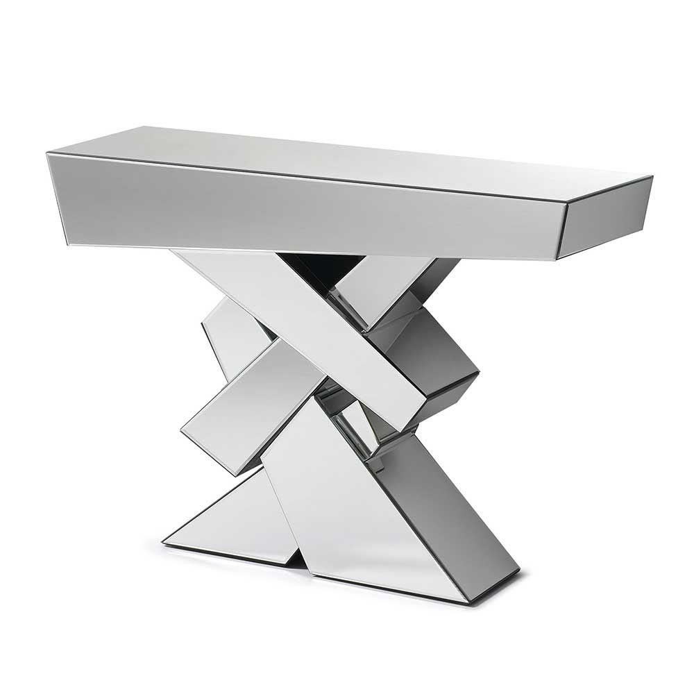 Elegant Konsolentische Modern Sammlung Von Design Flur Konsolentisch Aus Kristall Spiegelglas Jetzt
