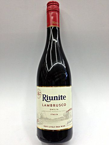 Riunite Lambrusco Red Wine 750 Red Wine Lambrusco Wine Sweet