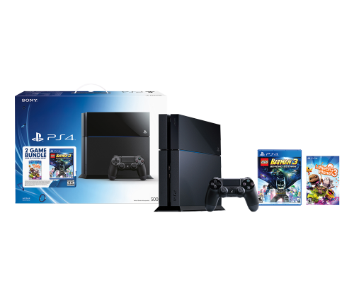 Ps4 500gb Hw Bundle Family Ps43000671 Playstation 4 Console Ps4 Console Playstation