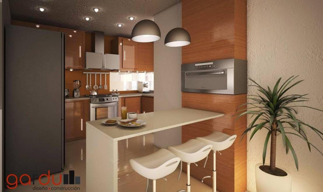 Proyecto J + L  Cocinas modernas de GarDu Diseño + Construcción