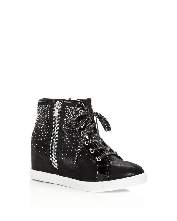 Stuart Weitzman Embellished Wedge High-Top Sneakers extremely online cheap sale manchester great sale get to buy cheap online manchester great sale cheap online store pTHqyx