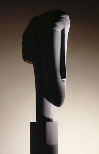 Although Modigliani is known primarily as a painter, he fostered ambitions to become a sculptor early on in his career. Paul Alexandre, his friend and first faithful patron, engineered a meeting with Constantin Brancusi in 1909. This encouraged Modigliani to return to stone carving and for almost three years he virtually abandoned portrait painting. Some 25 sculptures survive from this formative period in his career.