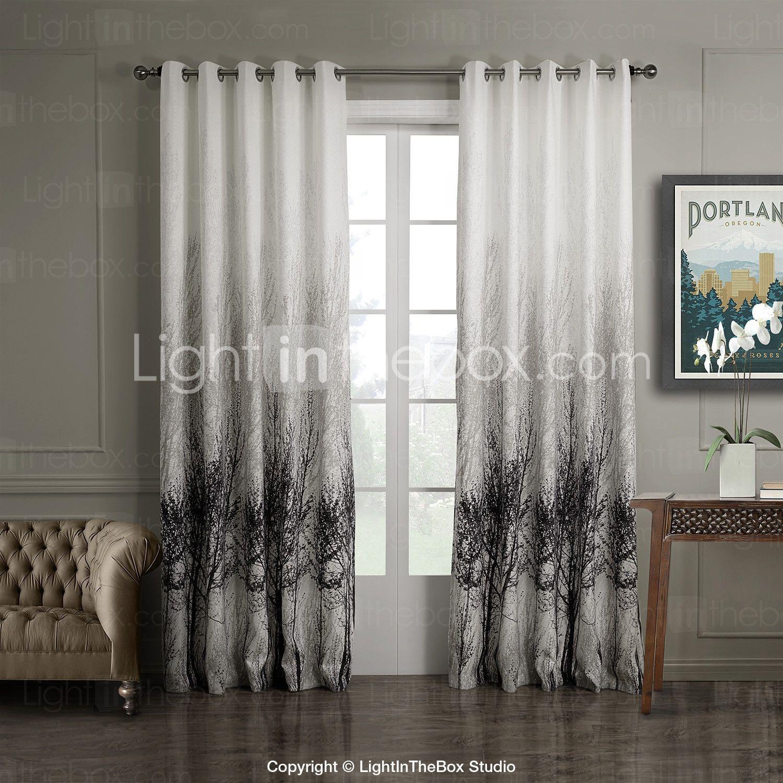 Window Custom Printed Curtains