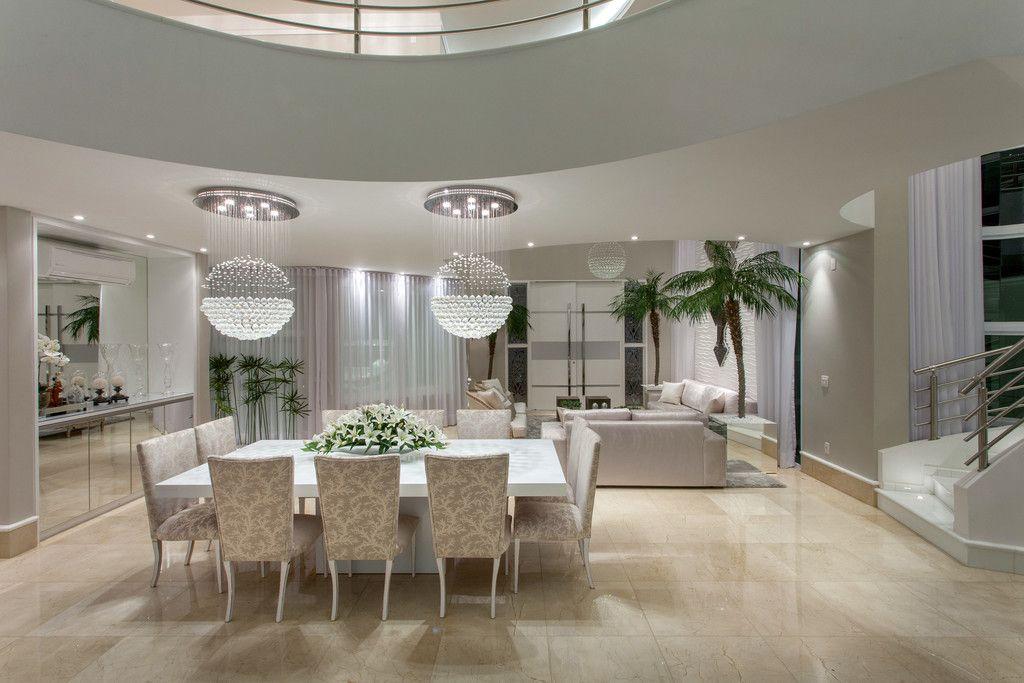 Casa contempor nea com linhas curvas veja detalhes da for Ambientes casas modernas
