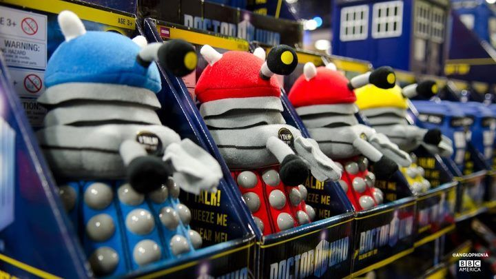 EXTERMINATE!!!     For sale at Comic-Con 2012.