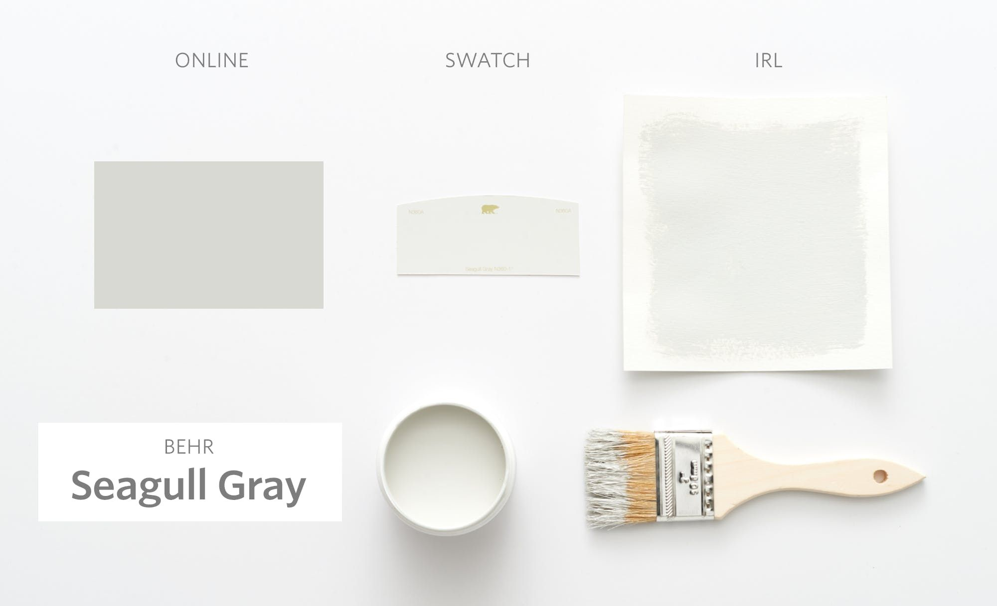 Behr Seagull Gray Color Cheat Sheet The 15 Most Perfect Paint Colors Modern Palette