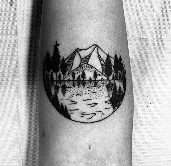 075ac58e1 50 Small Nature Tattoos For Men - Outdoor Ink Design Ideas | Tattoo ...
