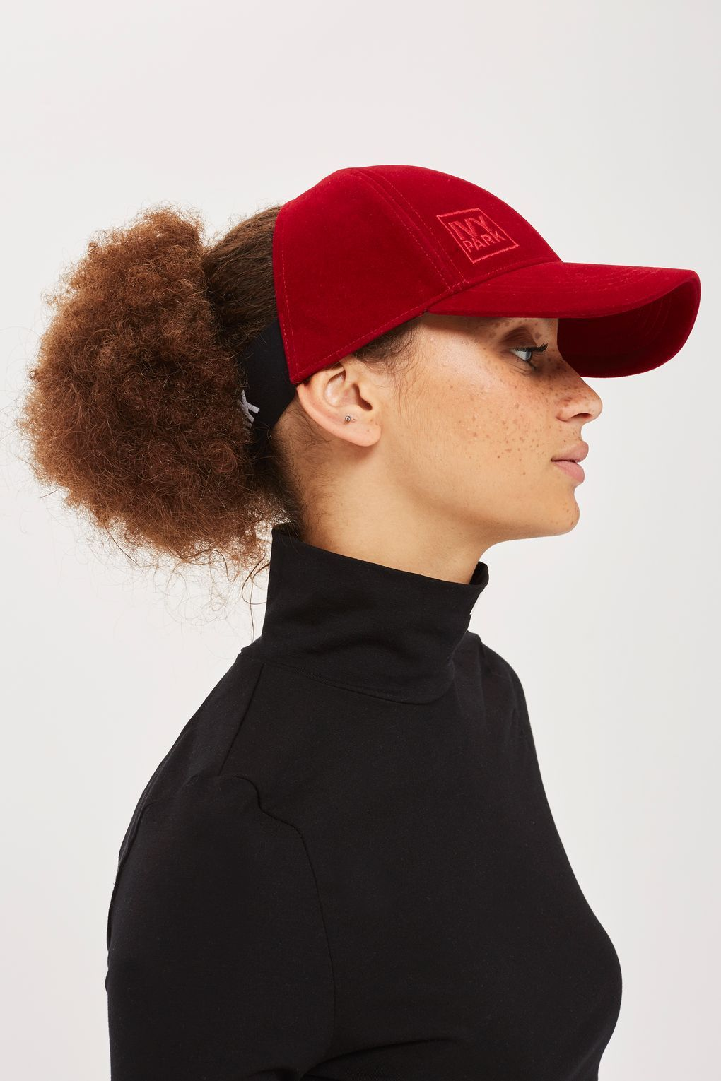 a71f0b1a06f Velvet Backless Cap by Ivy Park in 2019