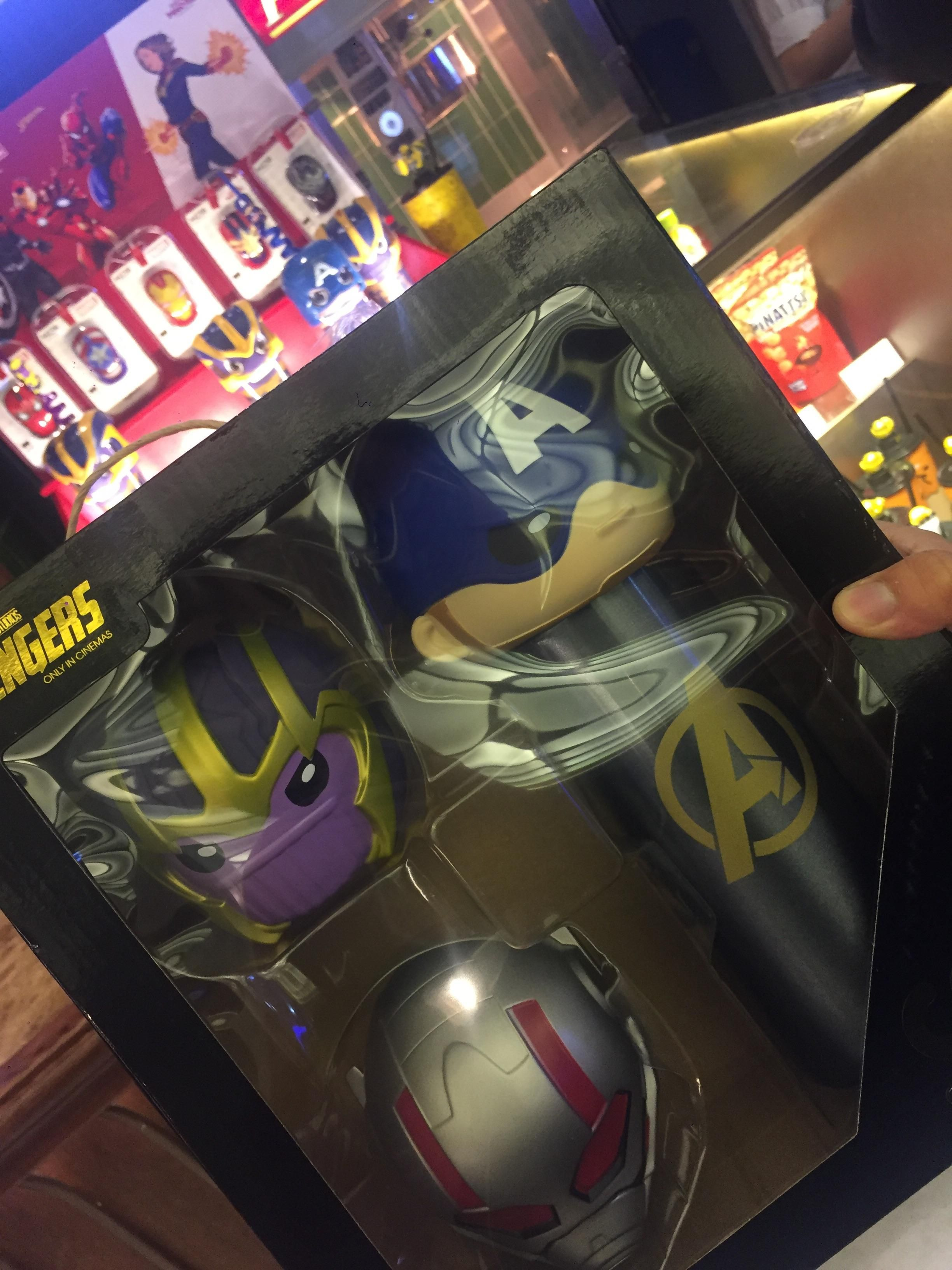 avengers endgame vip giftpack and regular combo at cgv in vietnam