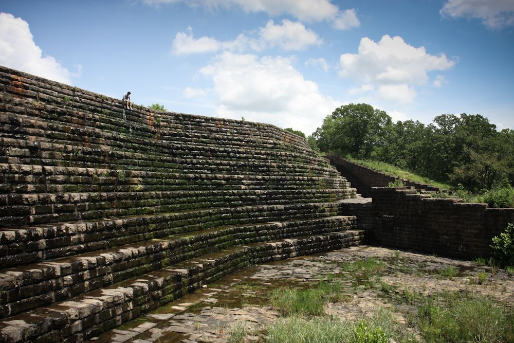 see the spillway at Dripping Springs / Okmulgee State Park ...