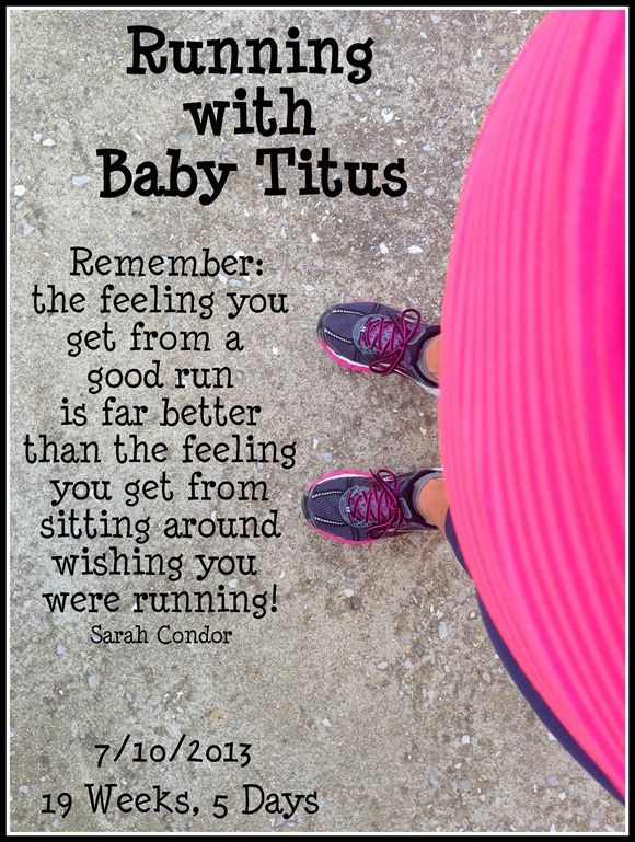 Running with Baby!  Pregnancy Fitness Blog!