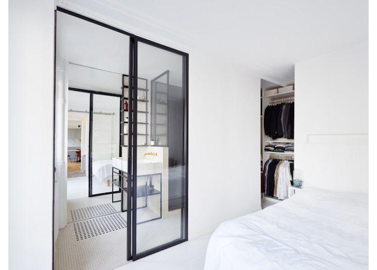 Zwart Wit Appartement : Parijs appartement vol zwart wit en marmer mydecor bedroom
