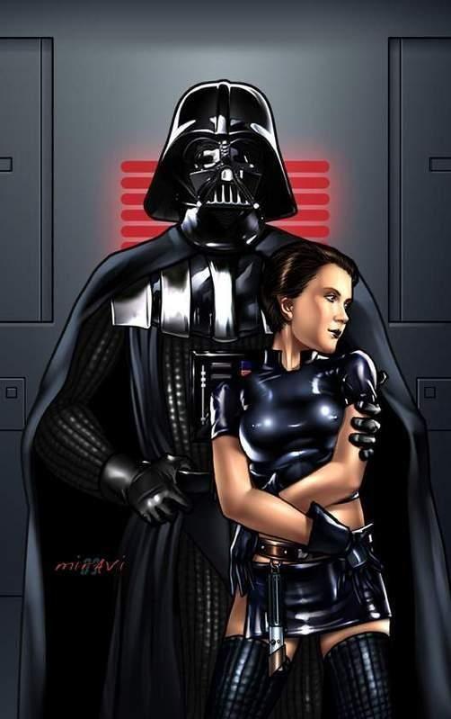 star Darth xxx vader leia wars