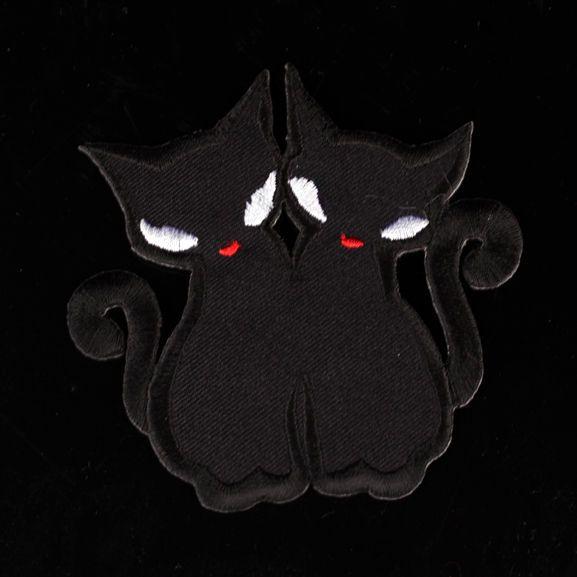 Patch -Black cats Kangasmerkki | Cybershop