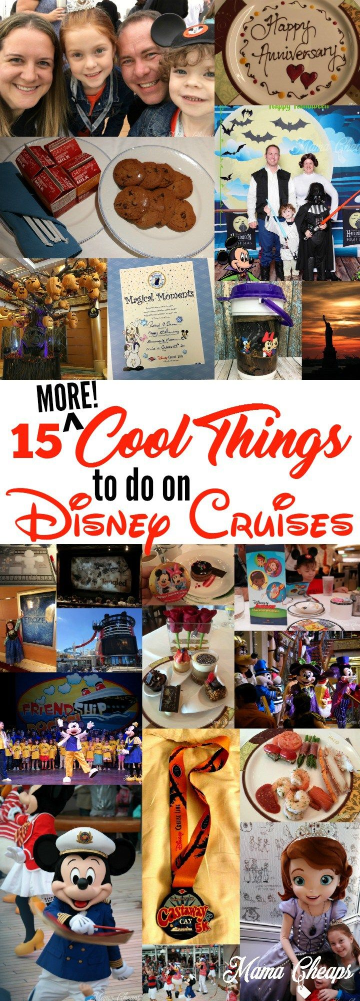15 More Cool Things To Do On Disney Cruises Disney