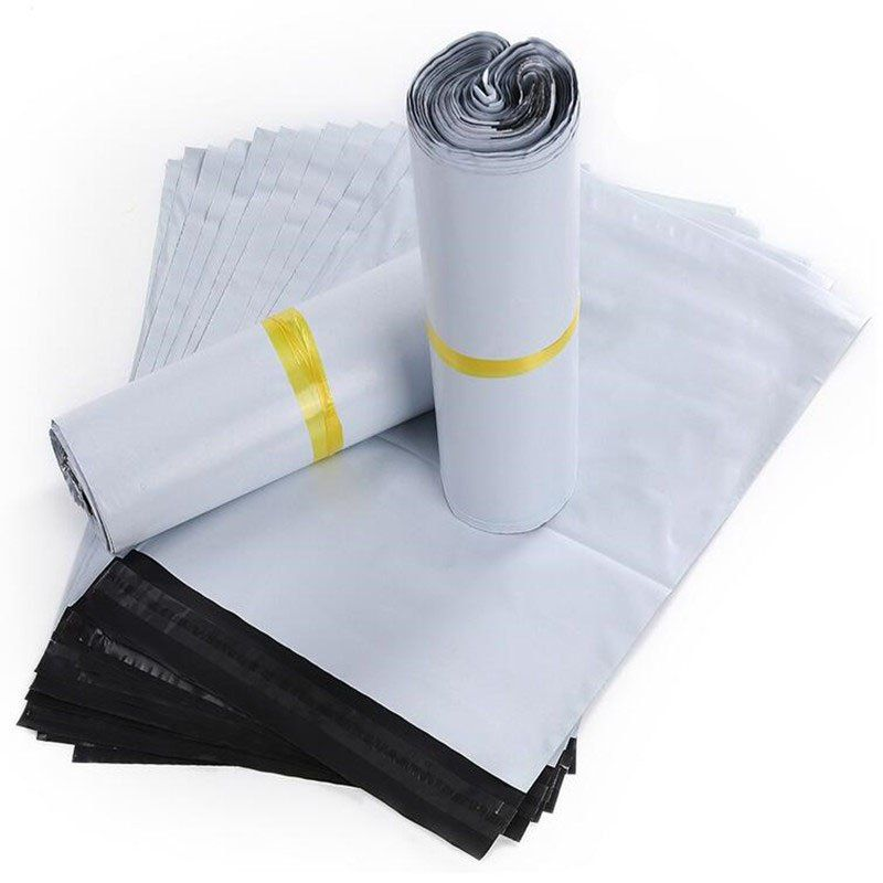 16x21cm White Self Adhesive White Mailing Envelope Pouches Plastic Express Courier Bags Alppm Envelope Mailing Envelopes Adhesive