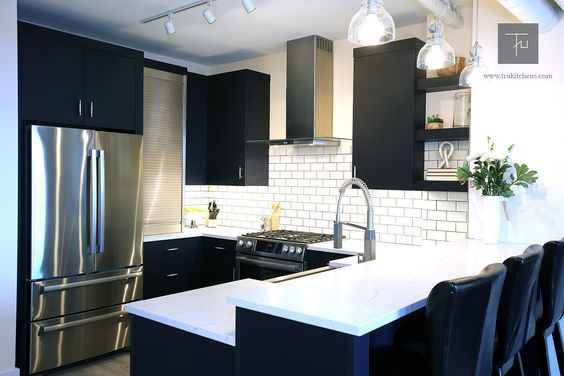 Transitional #kitchen design Insanely Cute Home Decorations