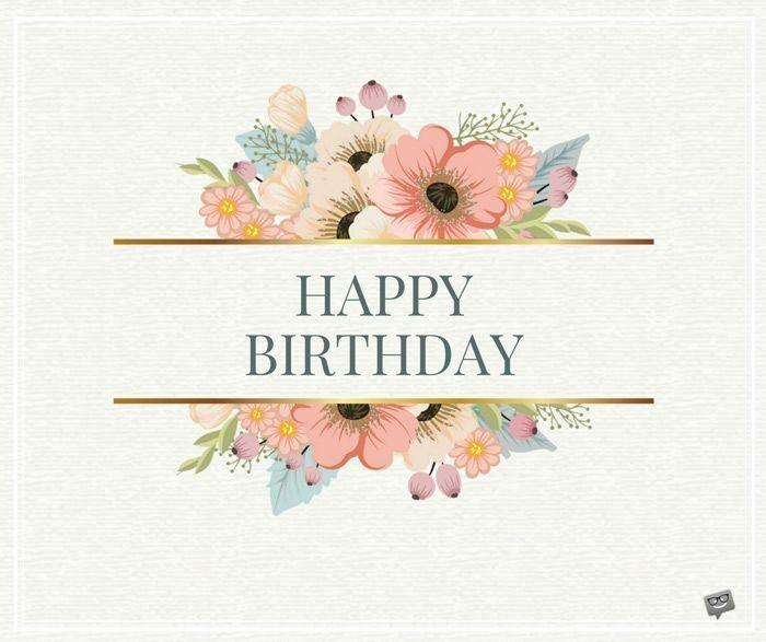 Happy Birthday Herzliche Geburtstagsgrusse Alles Gute Zum