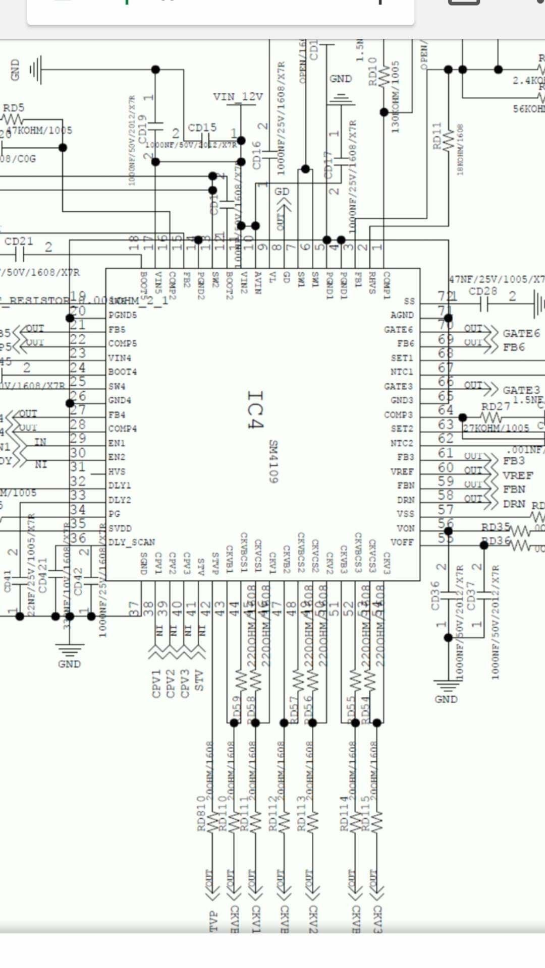 Sm4109 Electronic Schematics Sony Led Tv Electronics Basics
