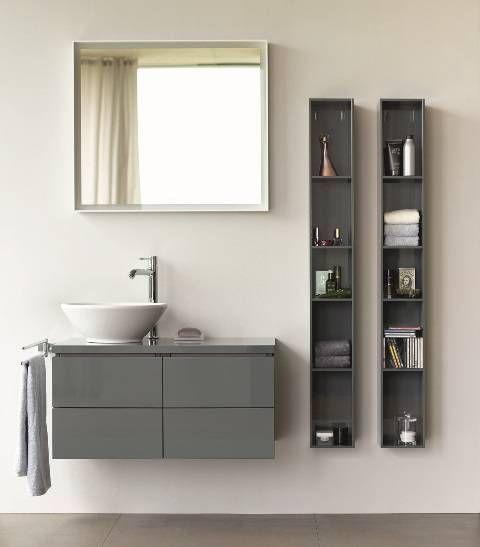 4 dicas para otimizar banheiros e lavabos pequenos Banheiros - lavabos pequeos