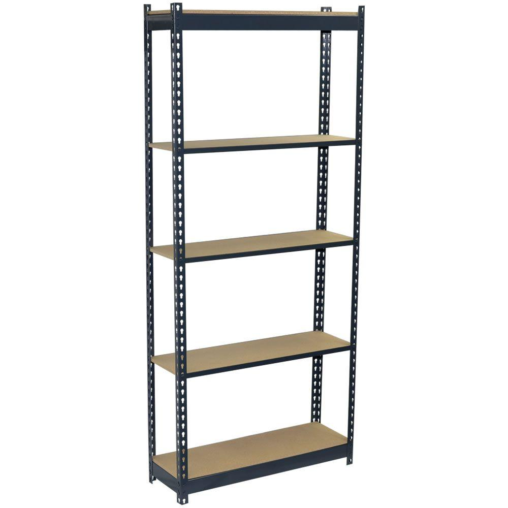in h x in w x in d shelf steel boltless shelving unit
