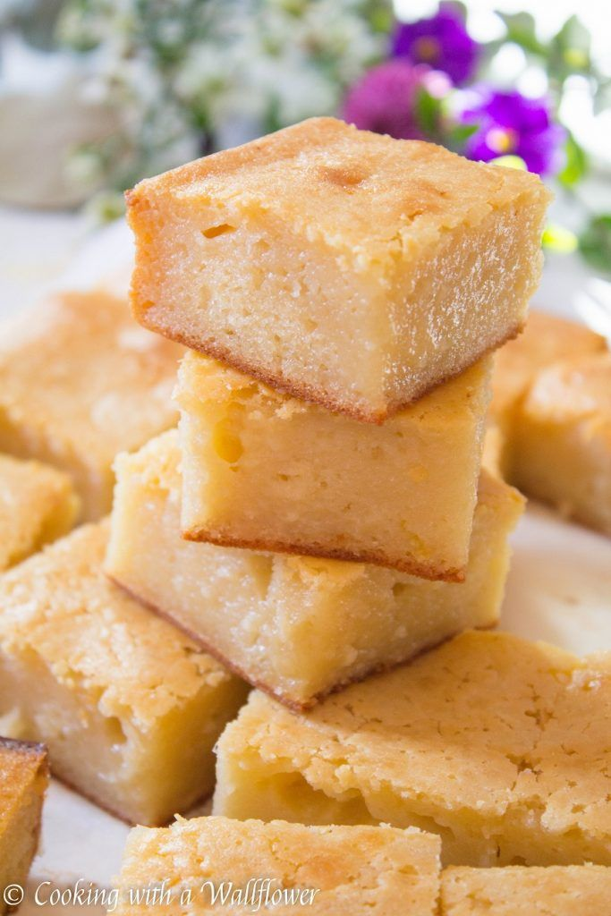 Butter Mochi Cake is part of Butter mochi - Soft and buttery mochi cake with just a hint coconut milk in every bite  This butter mochi cake is custardy and perfect as dessert
