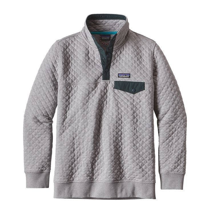 Women's Cotton Quilt Snap-T® Pullover | Cotton quilts, Cotton and Gray