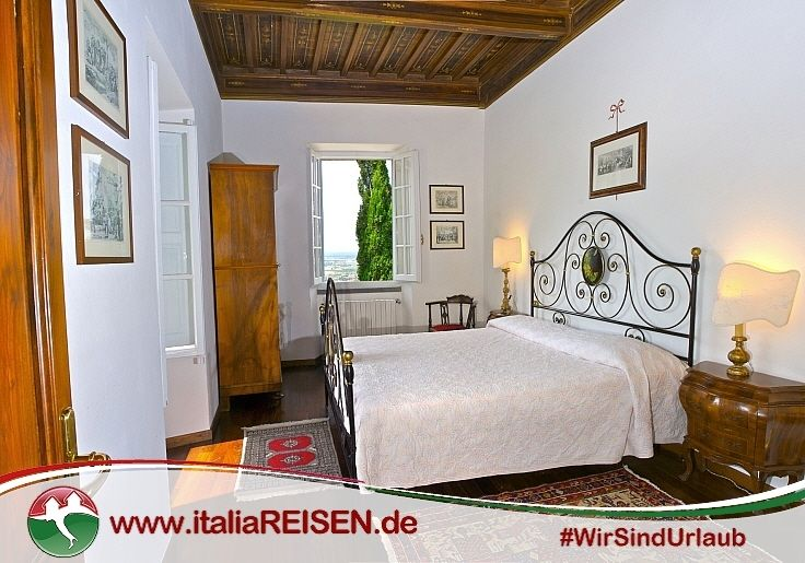 Webcode: IT-COSE Schlafzimmer, Toskana, Italien, Urlaub, Reisen ...