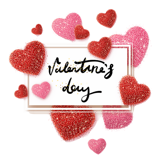Greeting Card With Hearts Valentine S Day Transparent Image Instant Download Upcrafts Design In 2021 Happy Valentines Day Card Valentines Valentine