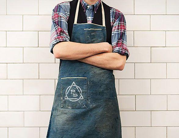 Pie Society restaurant branding | Apron for a new restaurant ...