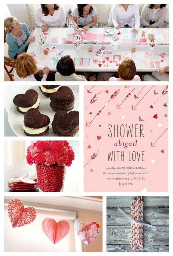 Valentines Day Baby Shower Baby Shower Ideas Pinterest Baby